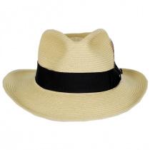 Summer C-Crown Toyo Straw Fedora Hat alternate view 7