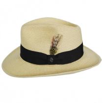 Summer C-Crown Toyo Straw Fedora Hat alternate view 8