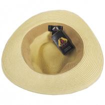 Summer C-Crown Toyo Straw Fedora Hat alternate view 19