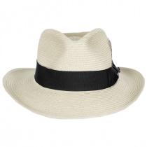 Summer C-Crown Toyo Straw Fedora Hat alternate view 2