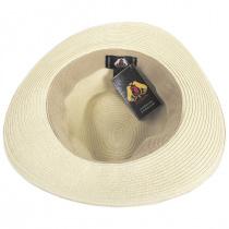 Summer C-Crown Toyo Straw Fedora Hat alternate view 4