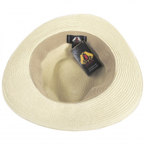Summer C-Crown Toyo Straw Fedora Hat alternate view 14