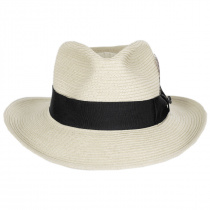 Summer C-Crown Toyo Straw Fedora Hat alternate view 42