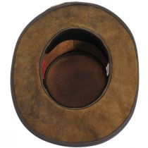 Frontier Leather Western Hat in