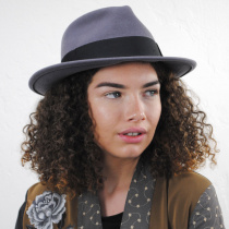 C-Crown Crushable Wool Felt Fedora Hat alternate view 44