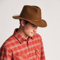 Wesley Wool Felt Floppy Fedora Hat alternate view 23