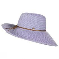 Waverly Sequin Toyo Straw Blend Swinger Sun Hat alternate view 7