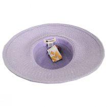 Waverly Sequin Toyo Straw Blend Swinger Sun Hat alternate view 8