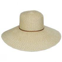 Waverly Sequin Toyo Straw Blend Swinger Sun Hat alternate view 11