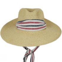 Heritage Toyo Straw Blend Safari Fedora Hat alternate view 2