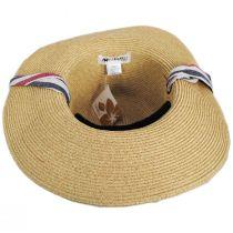 Heritage Toyo Straw Blend Safari Fedora Hat alternate view 4