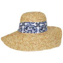 Citron Toyo Straw Swinger Hat alternate view 2