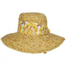 Citron Toyo Straw Swinger Hat alternate view 6