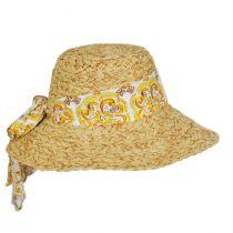 Citron Toyo Straw Swinger Hat alternate view 7