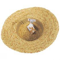 Citron Toyo Straw Swinger Hat alternate view 8