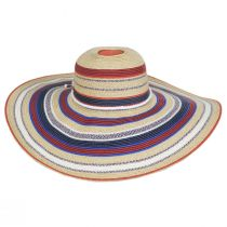 July Toyo Straw Blend Swinger Sun Hat alternate view 2