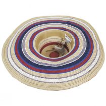 July Toyo Straw Blend Swinger Sun Hat alternate view 4