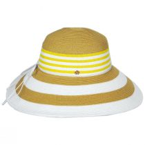 Ahina Toyo Straw Blend Lampshade Sun Hat alternate view 3