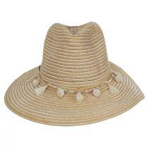 Raeni Toyo Straw Blend Safari Fedora Hat alternate view 2