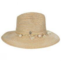 Raeni Toyo Straw Blend Safari Fedora Hat alternate view 3