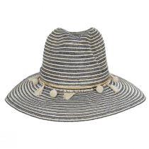 Raeni Toyo Straw Blend Safari Fedora Hat alternate view 6