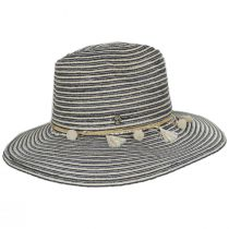 Raeni Toyo Straw Blend Safari Fedora Hat alternate view 7