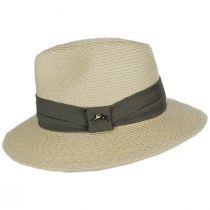 Cay Sal Toyo Straw Safari Fedora Hat alternate view 3