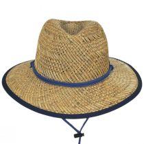 Bondi Rush Straw Safari Fedora Hat alternate view 2