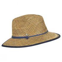 Bondi Rush Straw Safari Fedora Hat alternate view 7