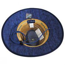 Bondi Rush Straw Safari Fedora Hat alternate view 8