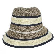 Verita Toyo Straw Blend Fedora Hat alternate view 2