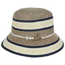 Verita Toyo Straw Blend Fedora Hat alternate view 3