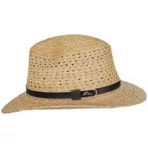 Inagua Raffia Straw Safari Fedora Hat alternate view 3