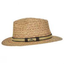 Navagio Raffia Straw Safari Fedora Hat alternate view 3