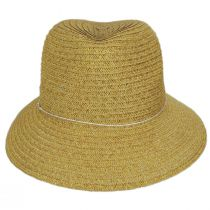 Talin Toyo Straw Blend Fedora Hat alternate view 2