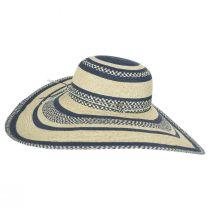 Camila Toyo Straw Blend Swinger Sun Hat alternate view 3