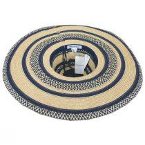 Camila Toyo Straw Blend Swinger Sun Hat alternate view 4