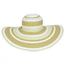 Camila Toyo Straw Blend Swinger Sun Hat alternate view 6