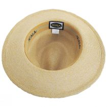 Slider Toyo Straw Safari Fedora Hat alternate view 4