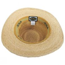 Global Raffia Straw Outback Fedora Hat alternate view 4