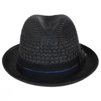 Pentani Toyo Straw Fedora Hat alternate view 2