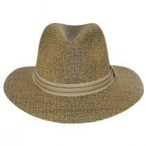 Latitude Matte Toyo Straw Safari Fedora Hat alternate view 2