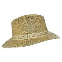 Latitude Matte Toyo Straw Safari Fedora Hat alternate view 7