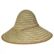 Tillage Rush Straw Conical Coolie Hat alternate view 7
