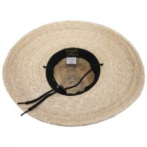 Tideland Palm Straw Lifeguard Hat alternate view 4