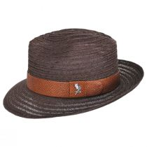 Avant Gard Hemp Straw Fedora Hat alternate view 3
