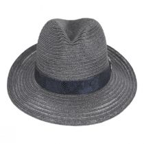 Avant Gard Hemp Straw Fedora Hat alternate view 6