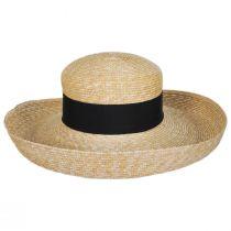 Jen Milan Straw Lampshade Hat alternate view 2