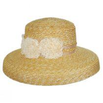 Sue Milan Straw Lampshade Hat alternate view 2