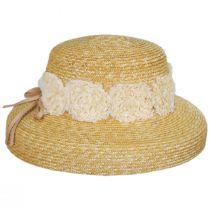 Sue Milan Straw Lampshade Hat alternate view 3